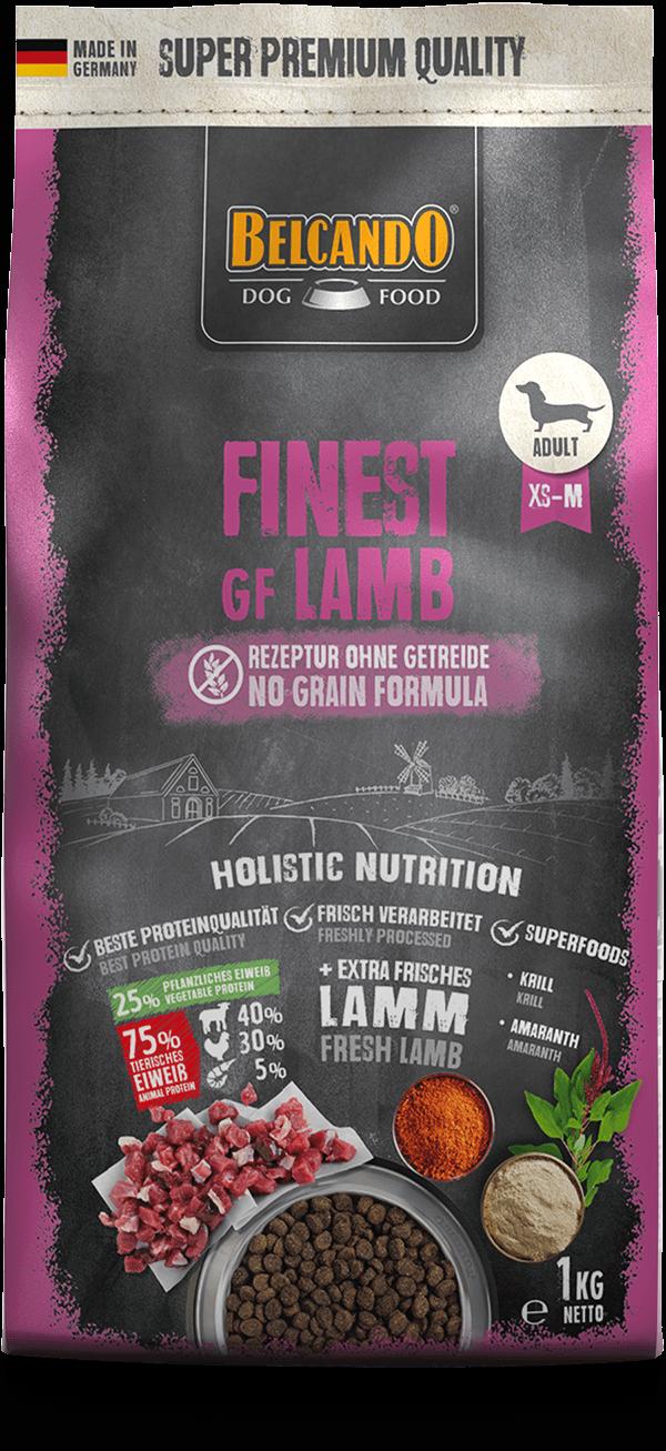 Belcando-Finest-GF-Lamb-1kg-front